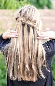 tutorial rambut waterfall braids braids braids hair pinterest hair style hair make up