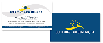 Business Cards Boca Raton Gold Coast Accounting Pa Business Card Portfolio