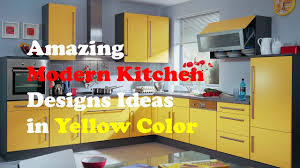 yellow and kitchen ideas yellow kitchen design amazing modern kitchen designs ideas in