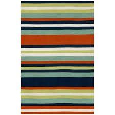 Yellow And Blue Outdoor Rug Striped Outdoor Rugs Mats Dfohome