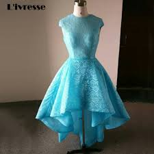 Light Blue High Low Dress Prom High Low Dresses Picture More Detailed Picture About