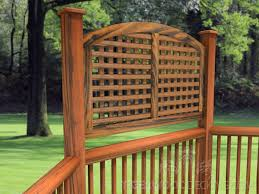 Creating Privacy In Your Backyard Privacy In Your Backyard Decking Area Tigerwood Decking
