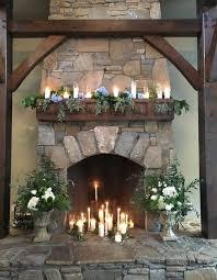Fireplace Decor 50 Wedding Fireplace Decor Ideas Happywedd Com Wedding