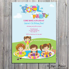 how to make pool party invitations pool party invitation summer party invite splash birthday party