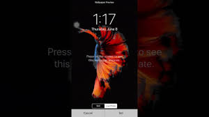 press on wallpaper ios 11 wallpapers youtube