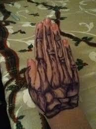 sharpie tattoos skeleton hand by skrin the protector on deviantart