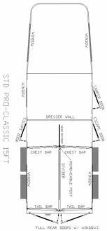 straight floor plan pro classic aluminum gooseneck straight load horse trailer