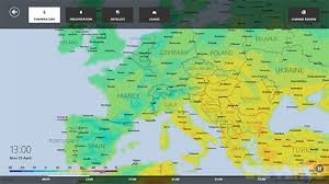 updated map of europe windows 8 weather app updated with interactive maps and ski resort