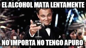 Memes Alcohol - el alcohol mata lentamente congratulations meme on memegen
