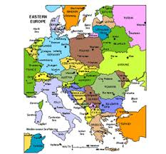 european countries on a map azerbaijan powerpoint map administrative districts capitals