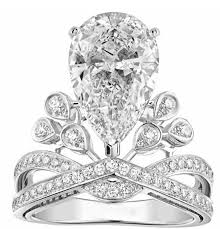 king and crown wedding rings bling bling paved ring set fashion jewelry and king