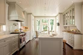 beadboard ceiling cottage kitchen marshall watson interiors