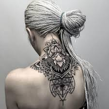 the 25 best mandala tattoo neck ideas on pinterest ankle tattoo