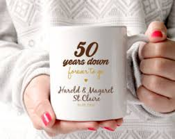 50 wedding anniversary gift ideas 1 year anniversary mug 1 year of marriage gift anniversary