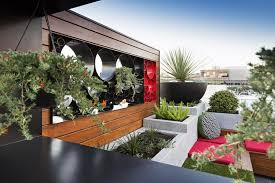 rooftop garden docklands penthouse paal grant designs in
