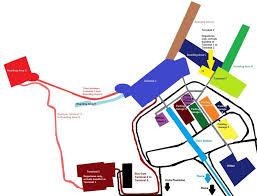 Iah Terminal Map Atlanta Airport Terminal B Map Maps Pinterest Usa Cities