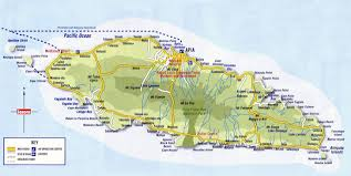 map samoa large detailed road map of western samoa western samoa large