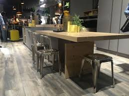 Floating Floor For Kitchen by Defying The Standards Custom Countertop Height Kitchens