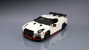 Lego Master Firas Abu Jaber Builds Incredible Nissan Gt R Nismo