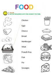 english worksheets the food worksheets page 338