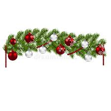 decoration green branches of a tree with