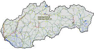 Slovakia Map Impressum