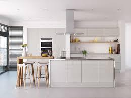 contemporary handleless kitchens bespoke kitchen designers
