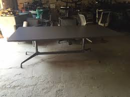 Herman Miller Eames Conference Table Herman Miller Eames Conference Table Gray Office Furniture
