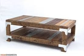 Free Diy Coffee Table Plans by Industrial Coffee Table Free Diy Plans Rogue Engineer
