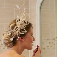 small fascinators for hair feather fascinator