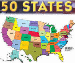 map of 50 us states with names us official state names name origin and state nicknames