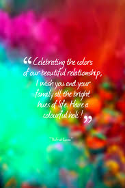 celebrating the colors of our beautiful relationship i wish you