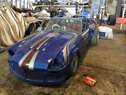 for sale triumph spitfire with a twin supercharged jaguar v12
