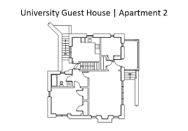 Floor Plan For Residential House Guest Housing Student Housing