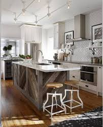 oak kitchen islands weathered wood island kitchens