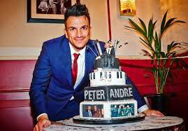 peter andre marks his 40th in the west end with girlfriend emily
