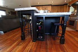 Kitchen Island Posts Affordable Custom Cabinets Showroom