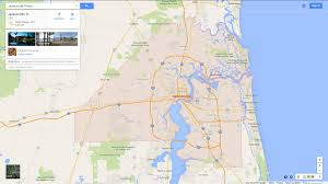 Daytona State College Map by Jacksonville Florida Map