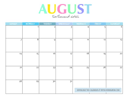 25 unique august 2016 printable calendar ideas on pinterest