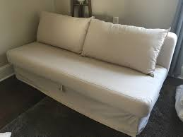himmene sleeper sofa lofallet beige used ikea himmene sleeper sofa in washington