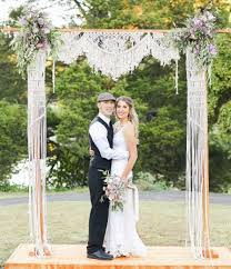 wedding arches chuppa macrame wedding arch chuppah bohemian wedding rustic wedding