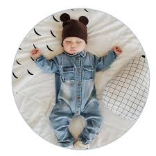 newborn jumpsuit denim baby romper graffiti infant clothes newborn jumpsuit