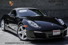 porsche boxster 2015 price used 2015 porsche boxster for sale pricing features edmunds