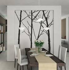 dining room wall decals wall decals as contemporary wall art ideas for dining room home