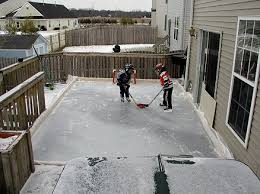 Backyard Rink Ideas Marvelous Design Inspiration Backyard Rink Rinks Kits Liner