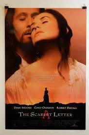 the scarlet letter dvd 2002 demi moore gary oldman rated r