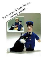 Postman Pat Duvet Postman Pat Knitting Pattern Digital Pdf Download 99p