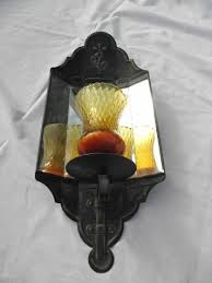 Votive Wall Sconce Vintage Mirrored Tole Wall Sconce Lamp For Votive Candle Antique