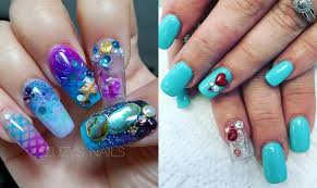 aquarium nails may be the most bizarre beauty trend yet one country