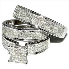 wedding rings sets his and hers for cheap his and hers wedding ring sets enchanting his and hers wedding